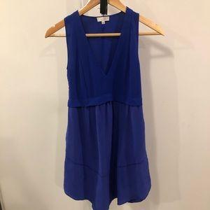 ❄️BOGO Aritzia Wilfred Silk Purple Blue Tunic